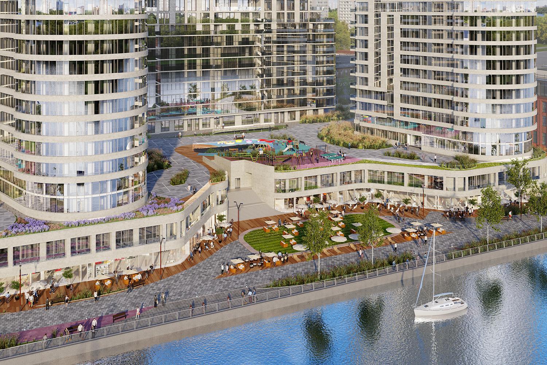 Началось строительство 5 башни ЖК Aquatoria